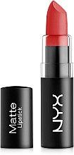 Духи, Парфюмерия, косметика Матовая помада для губ - NYX Professional Makeup Matte Lipstick