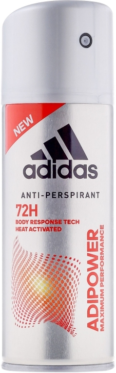Антиперспирант-дезодорант в спрее - Adidas Adipower Spray Men — фото N1