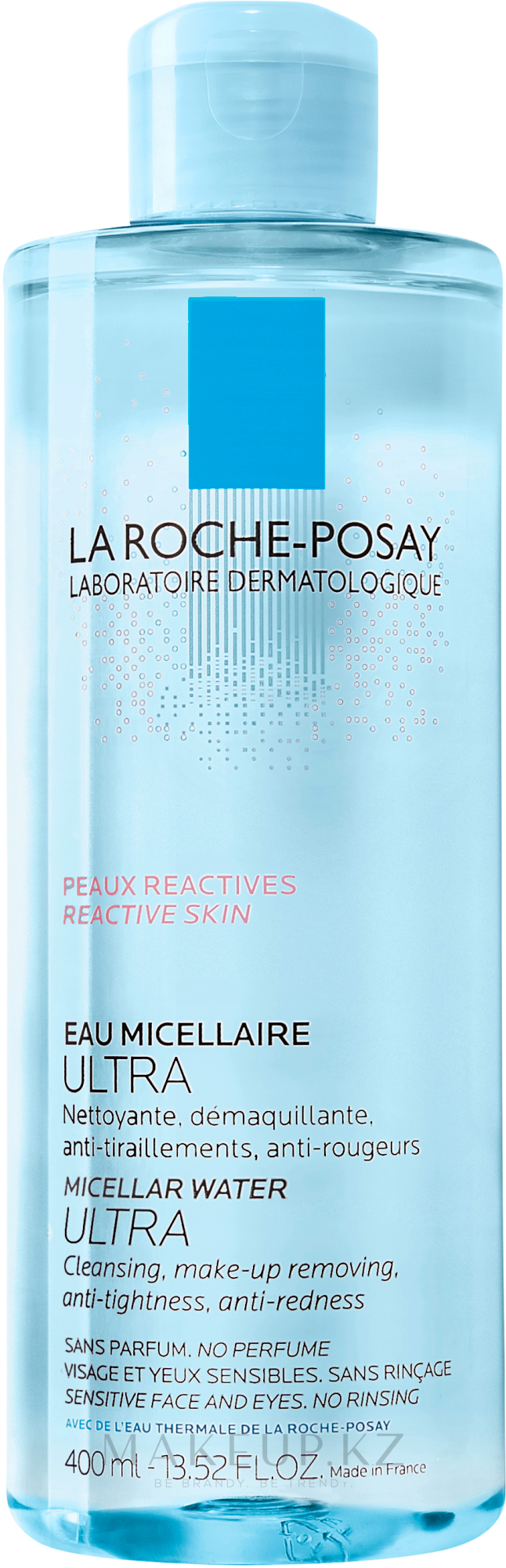 Мицеллярный раствор для гиперчувствительной кожи лица, склонной к покраснениям - La Roche-Posay Micellar Water Ultra for Reactive Skin — фото 400 ml