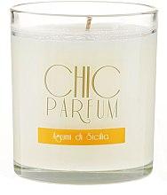 Духи, Парфюмерия, косметика Ароматическая свеча - Chic Parfum Agrumi Di Sicilia Candle