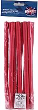 Духи, Парфюмерия, косметика Профессиональные гибкие бгуди 12/240, красные - Ronney Professional Flex Rollers