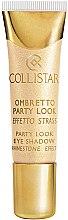 Духи, Парфюмерия, косметика Кремовые тени для век - Collistar Party Look Eye Shadow Rhinestone Effect