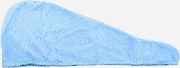 Духи, Парфюмерия, косметика Тюрбан для волос из микрофибры, голубой - Deni Carte
