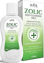 Духи, Парфюмерия, косметика Очищающее молочко для тела - Dr.EA Zolic Body Cleansing Milk