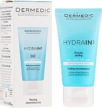 Духи, Парфюмерия, косметика Пилинг для лица шеи и декольте энзимный - Dermedic Hydrain3 Hialuro Peel