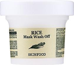 Духи, Парфюмерия, косметика Очищающая маска с экстрактом риса - Skinfood Rice Mask Wash Off