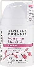Духи, Парфюмерия, косметика Питательный крем для нормальной кожи - Bentley Organic Skin Blosso Nourishing Face Cream