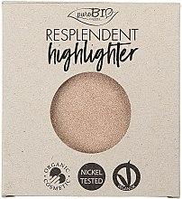 Духи, Парфюмерия, косметика Хайлайтер - PuroBio Cosmetics Resplendent Highlighter (сменный блок)