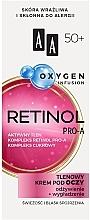 Духи, Парфюмерия, косметика Кислородный крем для век 50+ - AA Oxygen Infusion Retinol Pro-A Eye Cream