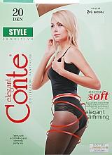 "Духи, Парфюмерия, косметика Колготки ""Style"" 20 Den, natural - Conte"