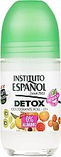 Духи, Парфюмерия, косметика Шариковый дезодорант для тела - Instituto Espanol Detox Deodorant Roll-on