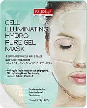 Духи, Парфюмерия, косметика Маска гидрогелевая для сияния лица - Purederm Cell Illuminating Hydro Pure Gel Mask