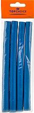 Духи, Парфюмерия, косметика Бигуди для волос M 4 шт, голубые - Top Choice