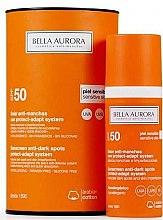 Духи, Парфюмерия, косметика Солнцезащитный флюид для чувствительной кожи - Bella Aurora Solar Anti-Stain Sensitive Skin SPF50+