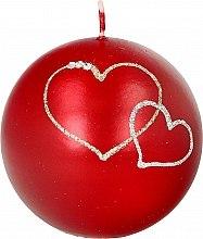 Духи, Парфюмерия, косметика Декоративная свеча красный шар, 8см - Artman Forever