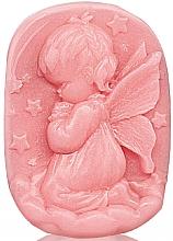 """Духи, Парфюмерия, косметика Глицериновое мыло """"Детское прикосновение"""" - Bulgarian Rose Glycerin Fragrant Soap Pink Angel"""