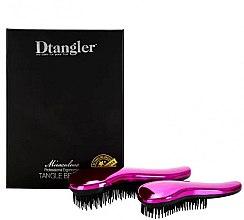 Духи, Парфюмерия, косметика Набор щеток для волос - KayPro Dtangler Miraculous Pink (2xbrush)