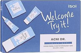 Духи, Парфюмерия, косметика Набор - Isoi Acni Dr. Trial Kit (tonic/30ml + gel/cr/7ml + ser/3ml + gel/7x1.3ml)