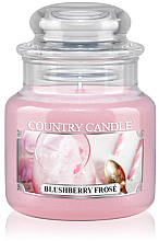 Духи, Парфюмерия, косметика Ароматическая свеча (банка) - Country Candle Blushberry Frose