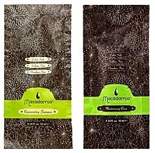 Духи, Парфюмерия, косметика Набор - Macadamia Natural Oil (sh/10ml + cond/10ml)