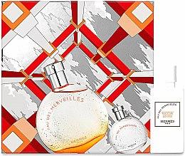 Духи, Парфюмерия, косметика Hermes Eau Des Merveilles - Набор (edt/50ml + edt/7.5ml + b/lot/40ml)