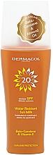 Духи, Парфюмерия, косметика Водостойкое молочко-спрей для загара - Dermacol Sun Water Resistant Milk Spray SPF20