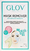 Духи, Парфюмерия, косметика Перчатка для снятия маски розовая - Glov Mask Remover