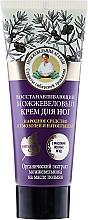 Духи, Парфюмерия, косметика Восстанавливающий можжевеловый крем для ног - Рецепты бабушки Агафьи Juniper Repairing Foot Cream