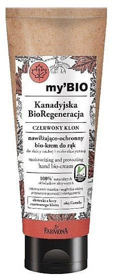 """Био-крем для рук """"Красный клен"""" - Farmona My'Bio Canadian Regeneration Hand Bio-Cream — фото N1"""
