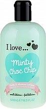 Духи, Парфюмерия, косметика Крем для душа и пена для ванны - I Love... Minty Choc Chip Bath and Shower Creme