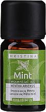 Духи, Парфюмерия, косметика Эфирное масло мяты - Hristina Cosmetics Mint Essential Oil