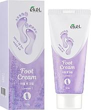 Духи, Парфюмерия, косметика Успокаивающий крем для ног с лавандой - Ekel Foot Cream