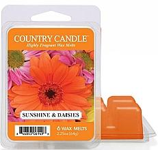 Духи, Парфюмерия, косметика Воск для аромалампы - Country Candle Sunshine & Daisies Wax Melts