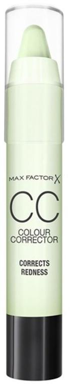 Корректор для лица - Max Factor CC Colour Corrector Corrects Redness — фото N1
