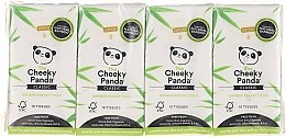 Духи, Парфюмерия, косметика Носовые платки из 100% бамбука - The Cheeky Panda Classic Bamboo Pocket Tissue