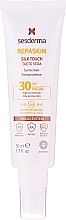 Духи, Парфюмерия, косметика Солнцезащитный крем для лица - SesDerma Laboratories Repaskin Silk Touch SPF30