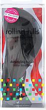 Духи, Парфюмерия, косметика Щётка для волос, чёрная - Rolling Hills Detangling Brush Travel Size Sky Black