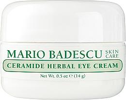 Духи, Парфюмерия, косметика Крем для глаз - Mario Badescu Ceramide Herbal Eye Cream