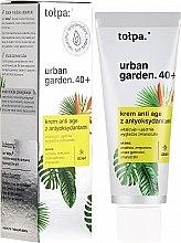 Духи, Парфюмерия, косметика Крем для лица дневной - Tolpa Urban Garden 40+ Anti-Age Day Cream