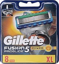 Духи, Парфюмерия, косметика Сменные кассеты для бритья, 8 шт. - Gillette Fusion ProGlide Power