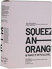 Духи, Парфюмерия, косметика Набор - Veoli Botanica Squeeze An Orange (f/oil/132.7g + towel/1pcs)