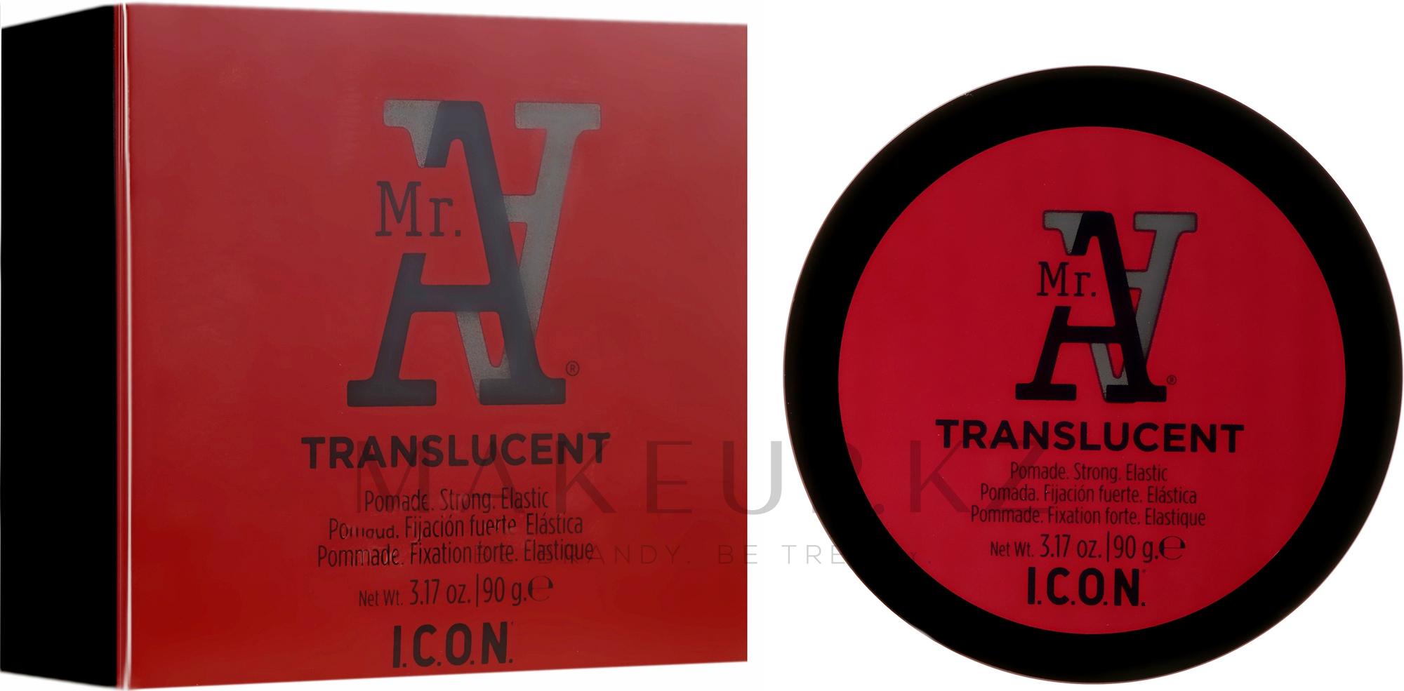 Помада для волос сильной фиксации - I.C.O.N. MR. A. Transclucent Pomade Strong Elastic — фото 90 g