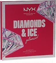 Духи, Парфюмерия, косметика Палетка теней - NYX Professional Makeup Diamonds & Ice Mega Shadow Palette