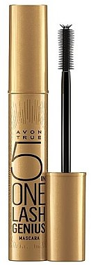 Тушь для ресниц 5 в 1 - Avon True 5 in One Lash Genius Mascara — фото N1