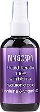 Духи, Парфюмерия, косметика Жидкий кератин для волос - Bingospa Liquid 100% Keratin with Biotine