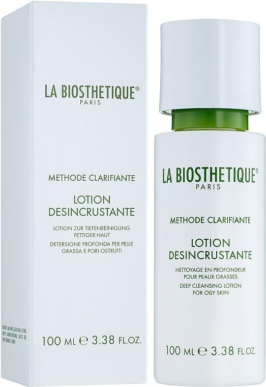 Глубоко очищающий лосьон для жирной кожи - La Biosthetique Methode Clarifiante Lotion Desincrustante — фото N1