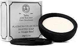 Духи, Парфюмерия, косметика Мыло для бритья в деревянной миске - Taylor Of Old Bond Street Platinum Collection Shaving Soap