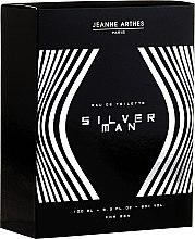 Духи, Парфюмерия, косметика Jeanne Arthes Silver Man - Туалетная вода