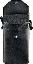 """Чехол-сумка для телефона на ремешке, чёрный """"Cross"""" - Makeup Phone Case Crossbody Black — фото N3"""