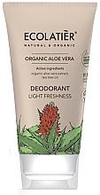 """Духи, Парфюмерия, косметика Дезодорант """"Лёгкость и свежесть"""" - Ecolatier Organic Aloe Vera Deodorant"""